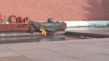 The memorial to the Unknown Soldier