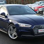 Nearly New A5 Audi 40 Tdi Quattro S Line 5dr S Tronic 2019 Lookers