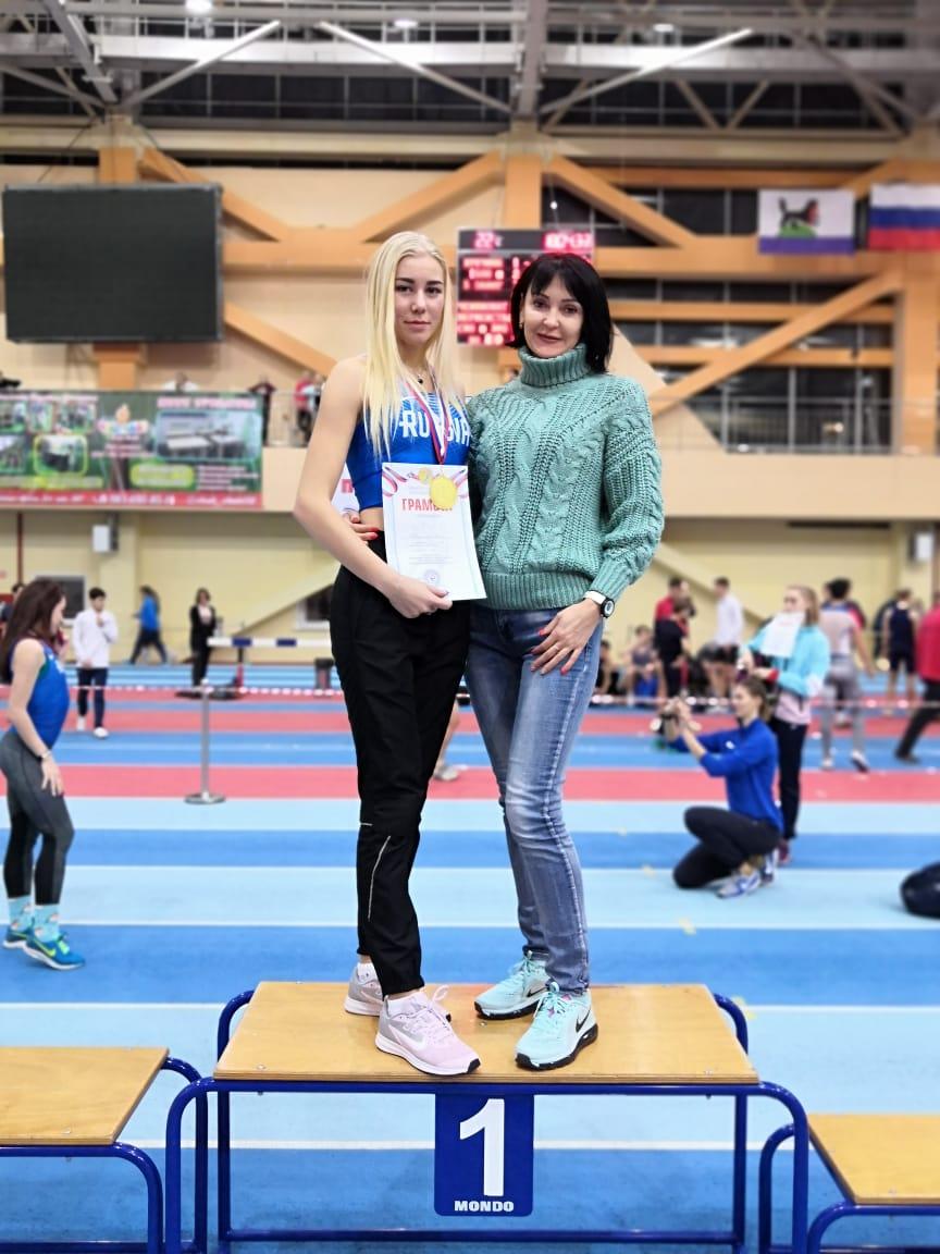 Парфененко Полина с тренером