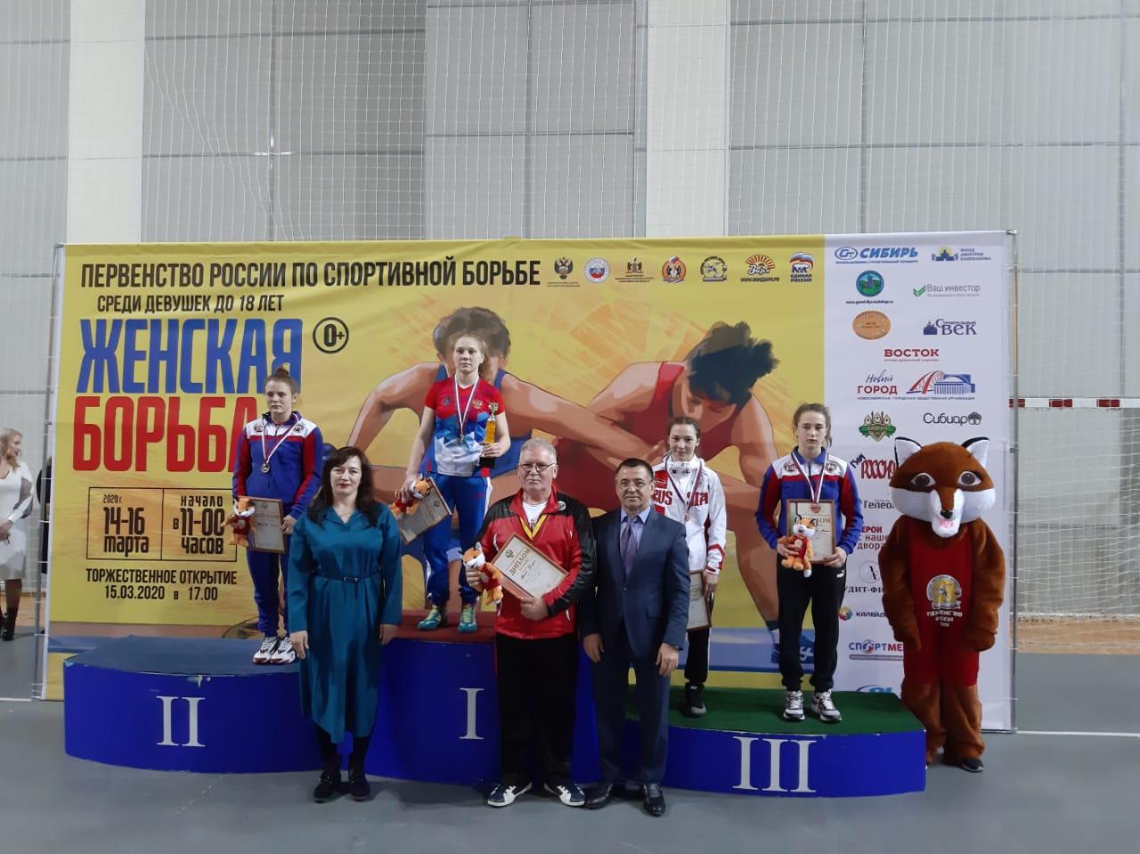 Ангелина Первухина первое место