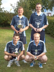 Sieger Heideturnier 2014 KSK Oldenburg mit Nils Wieske, Jan Stender, Arnim Barkholtz, Henrik Kiehn
