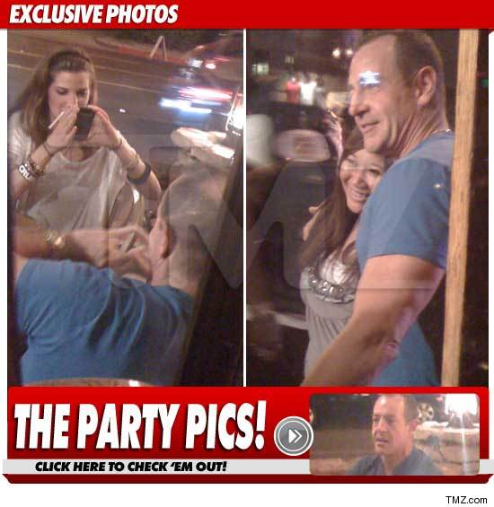 michael lohan lives it up at the Saddle Ranch on Sunset Strip hours after Lindsay Lohan's sentencing