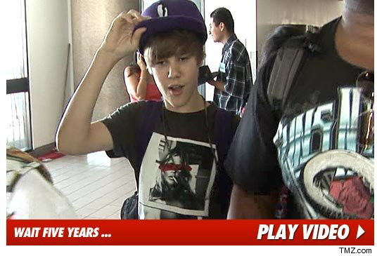 Justin Bieber has free reign over the entire world (as seen here) but there
