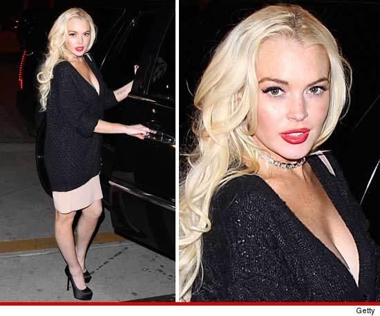 Lindsay Lohan blonde