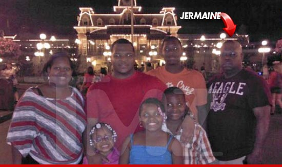 Jermaine Hopkins paid a visit to the most MAGICAL place on earth