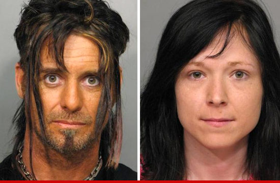 Billy the Exterminator and wife mug shot