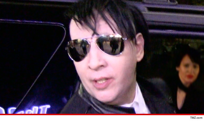 Marilyn Manson Suing Fight