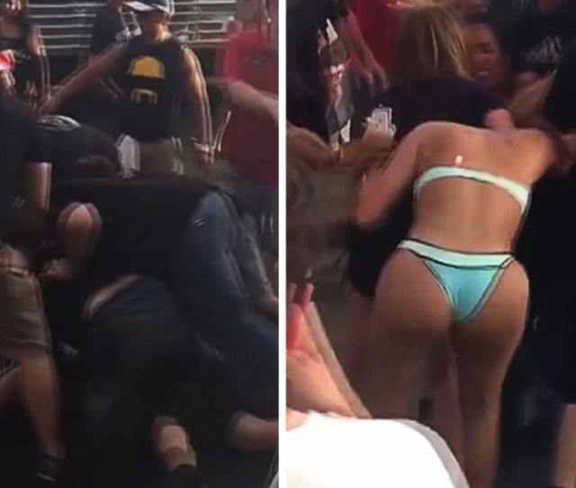 Hulk Hogans Bar Big Booty Babe In Huge Bar Fight Video Tmz Com Tmz Com Hulk Hogan News Newslocker