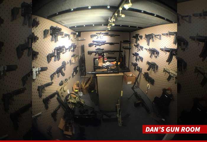 Dan Bilzerian Burglars Target Mega Gun Collection In