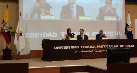 Conferencia en el evento Ruédala BiciFest 4ENCE en Loja