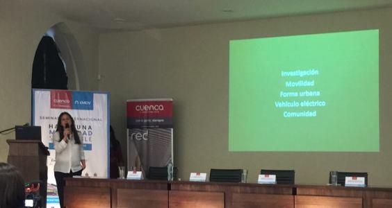 """Ponencia: Ciudad y Movilidad más allá del petróleo en el Seminario Internacional """"Hacia una movilidad sostenible"""""""
