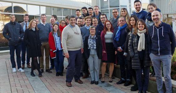 Reunión del proyecto Innoqua. Pavia, Italia