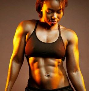 fit mom physique