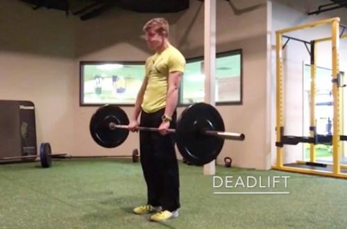 Posterior Chain Exercises - Deadlift