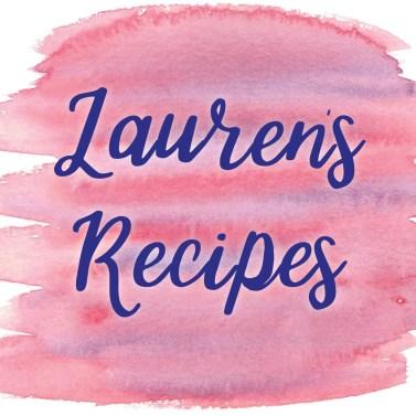Laurens Recipes