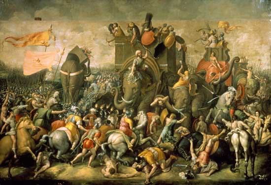 The Battle of Zama - Second Punic War