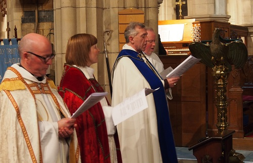 Bishop at Holy Trinty