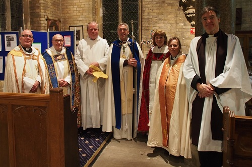 Bishop and clergy
