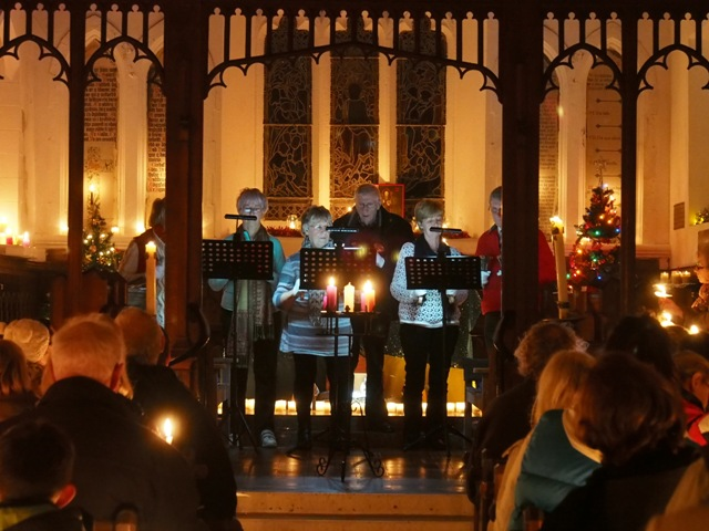 Carols by Candlelight at St. Tudno's Church