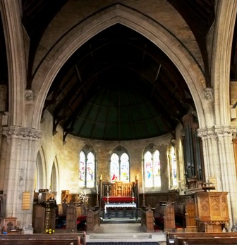 Chancel and sanctuary