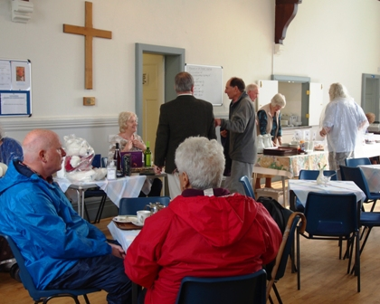 Friends of St. Tudno's coffee morning