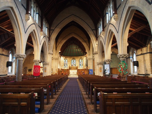 Holy Trinity Church interior view
