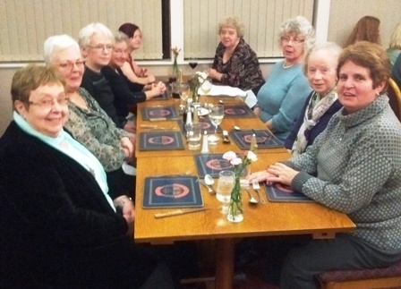 Mothers' Union meal out