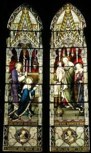 Simeon and Anna window