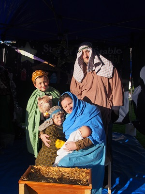 Nativity scene group