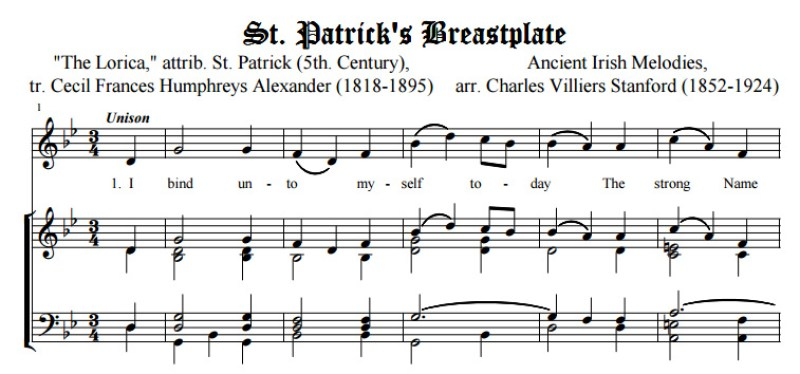 Image result for saint patrick hymn