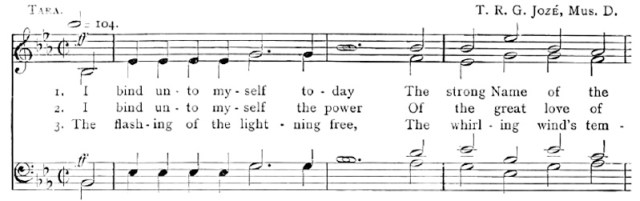The tune 'Tara' printed in the Church Hymnal 1894 was not a success.