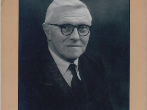 T V Shaw M.A. Headmaster from 1937 to 1956
