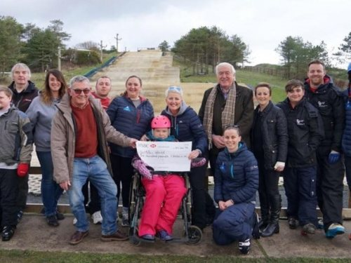 """Association support for Charity """"Ski4AllWales"""""""