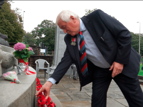 Former pupils join Llanelli Veterans for VJ Day