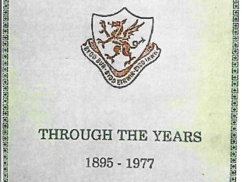 "Commemorative Magazine,   "" Through the Years 1895 – 1977 """