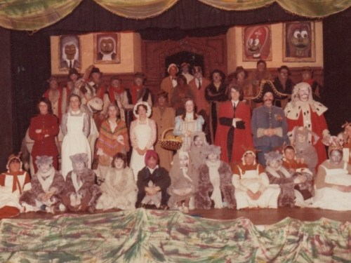 """1976 School Play, """"Toad of Toad Hall"""" by A. A. Milne"""