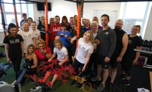 Losing the pounds brings in the £'s for Ty Bryngwyn Hospice @GI Joe's Rowathon