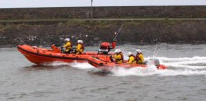 RNLI called out following reports of person in sea