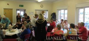 Bryn Hall Tea party raises funds for defibrillator