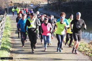 Former St Elli Centre manager leads the runners at National Botanic Gardens of Wales
