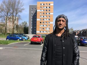 High Rise resident champions virtual reality boxing as aid for mental and physical health issues