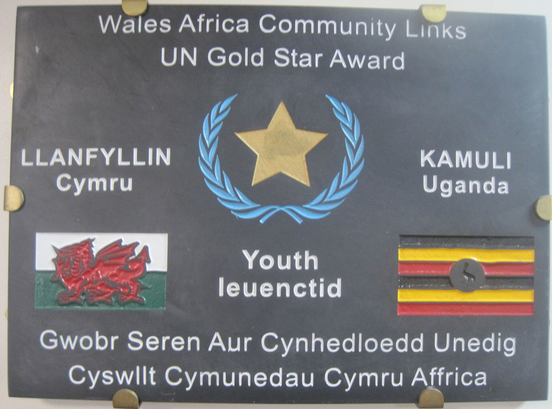 Wales/ Africa, links between Llanrhaeadr and Llanfyllin and Kamuli, Uganda