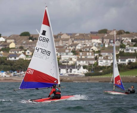 Junior Sailors at Pembrokeshire CYRC