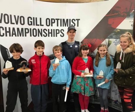 Three cheers for Llangorse sailors at Optimist Spring Championships