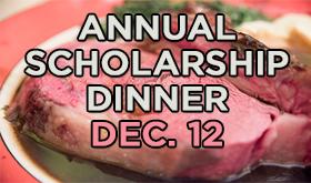 Annual Scholarship Dinner