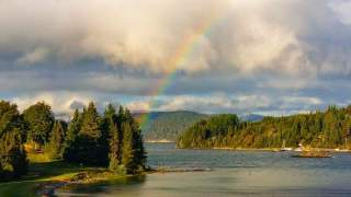 Rainbow views @Club Social Llao Llao