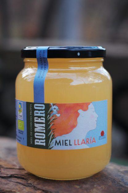 Miel ecológica de romero