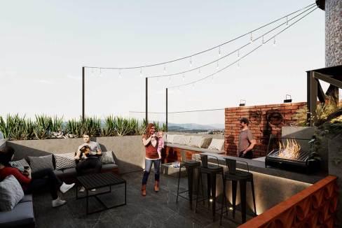 Departamentos CDMX Nueva york 247 roofgarden2