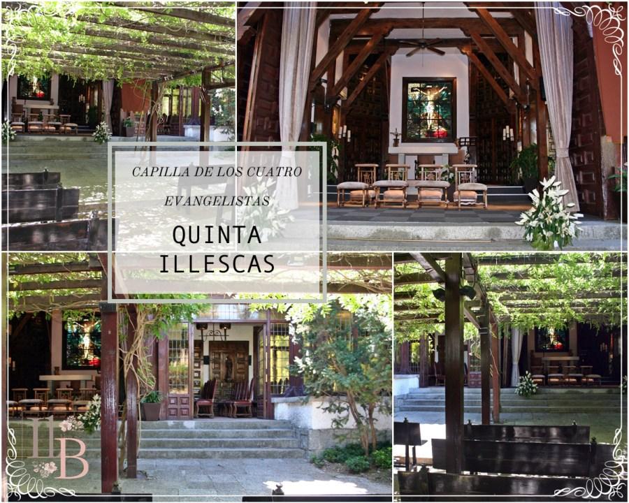 La Quinta de Illescas 2 - Capilla Cuatro Evangelistas. Post en Llega mi Boda