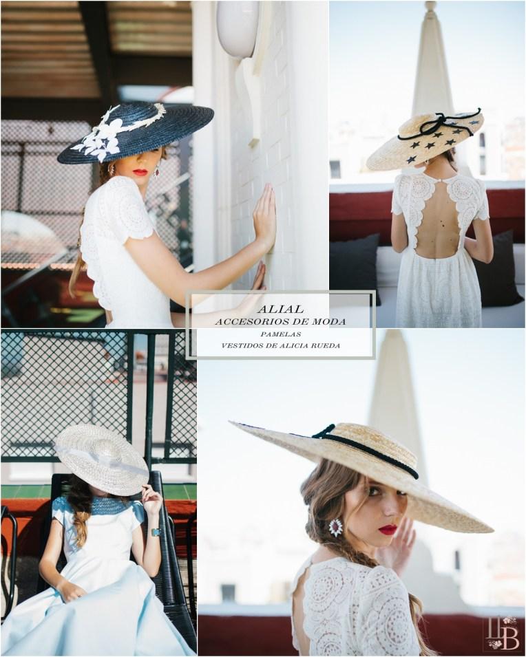 Pamelas de Alial con vestidos Alicia Rueda. Post en Llega mi Boda